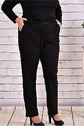 Черные укороченные брюки 42-74