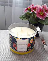 Большая свеча с ароматом лимона Bath&Body Works Limoncello