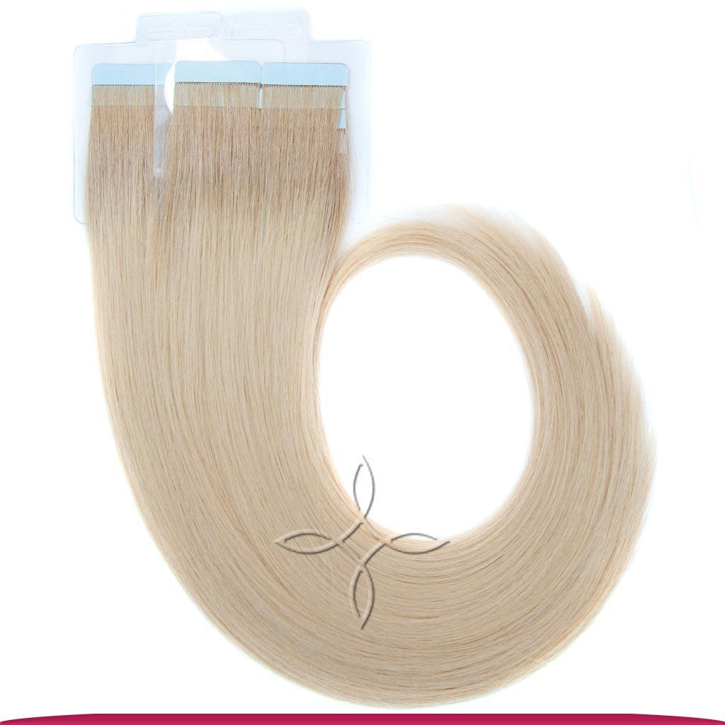 Натуральные Славянские Волосы на Лентах 50 см 100 грамм, Омбре №09-22B