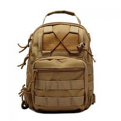 Тактический военный рюкзак OXFORD 600D Coyote