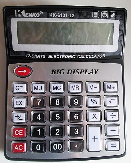 Калькулятор Кеnко КК-6131-12