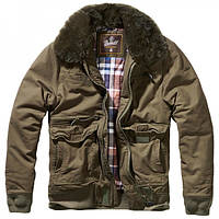 Куртка Brandit Perry Moleskin (олива)