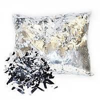 """Конфетти - """"МИШУРА"""", цвет серебро, 0.5 кг"""