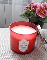 Большая свеча с ароматом арбузного лимонада Bath&Body Works Watermelon Lemonade