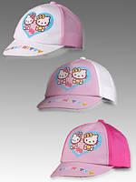 Кепка для девочек Hello Kitty оптом, 48-50 см., фото 1