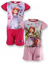 Пижама трикотажная для девочки Disney , размеры 2-6 лет , арт. 831-129