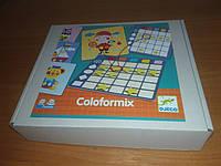 Coloformix (Djeco) - игра на изучение форм, цветов для малышей