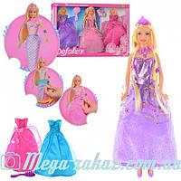 Кукла с одеждой Defa Lucy 8245: 2 наряда + аксессуары в комплекте