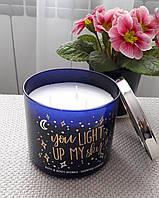 Большая свеча с ароматом лаванды и ванили Bath&Body Works Lavender Vanilla