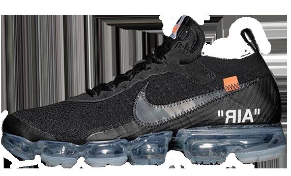 Мужские кроссовки Nike Air VaporMax x Off-White (Найк Аир Макс) черные