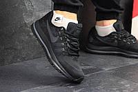 Стильные мужские кроссовки Найк Air Zoom Vomero, черные