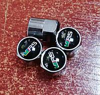 Колпачки на ниппель с логотипом SKODA VRS