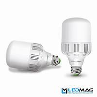 Светодиодная мощная LED лампа EUROLAMP 40Вт Е40 Холодный белый 6500К промышленная, фото 1
