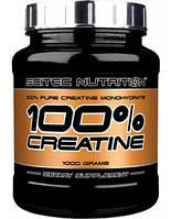 Креатин Scitec Nutrition 100% Creatine Monohydrate (1 кг) скайтек моногидрат