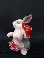 Зайчик с грибом, фото 1