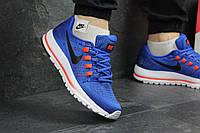 Стильные мужские кроссовки Найк Air Zoom Vomero, синие