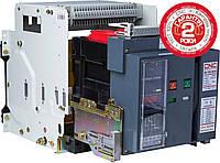 Автоматичний вимикач з електронним блоком керування викатний CNC BA79E-6300, 3P, 415V (120kA)