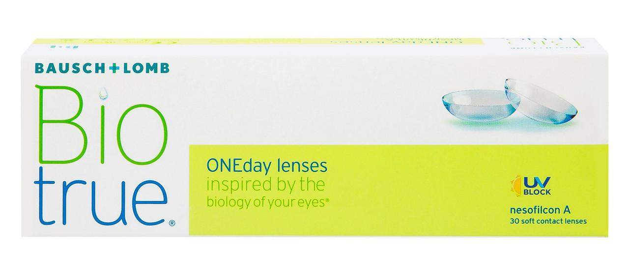 Одноденні контактні лінзи BioTrue ONEday