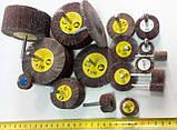 КЛО круг шлифовальный лепестковый с оправкой 30х10х6 Klingspor Р320, фото 2