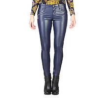 Штаны женские, обтягивающие, виниловые Versace Jeans