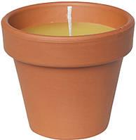 Свічка у горщику Стандарт 0,2*7*7 жовта