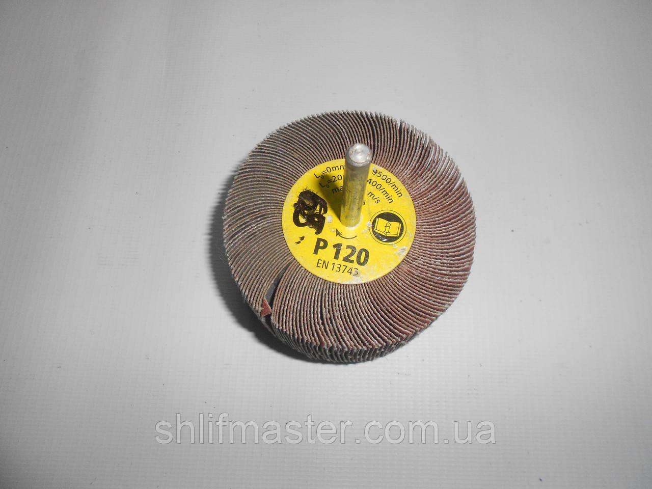 КЛО круг шлифовальный лепестковый с оправкой 30х10х6 Klingspor Р320