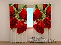 """Фото штора """"Письмо любимой"""" 250 х 260 см"""