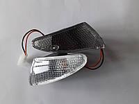 Повороты (пара) передние в сборе мопед/скутер SUZUKI LETS-2 білі