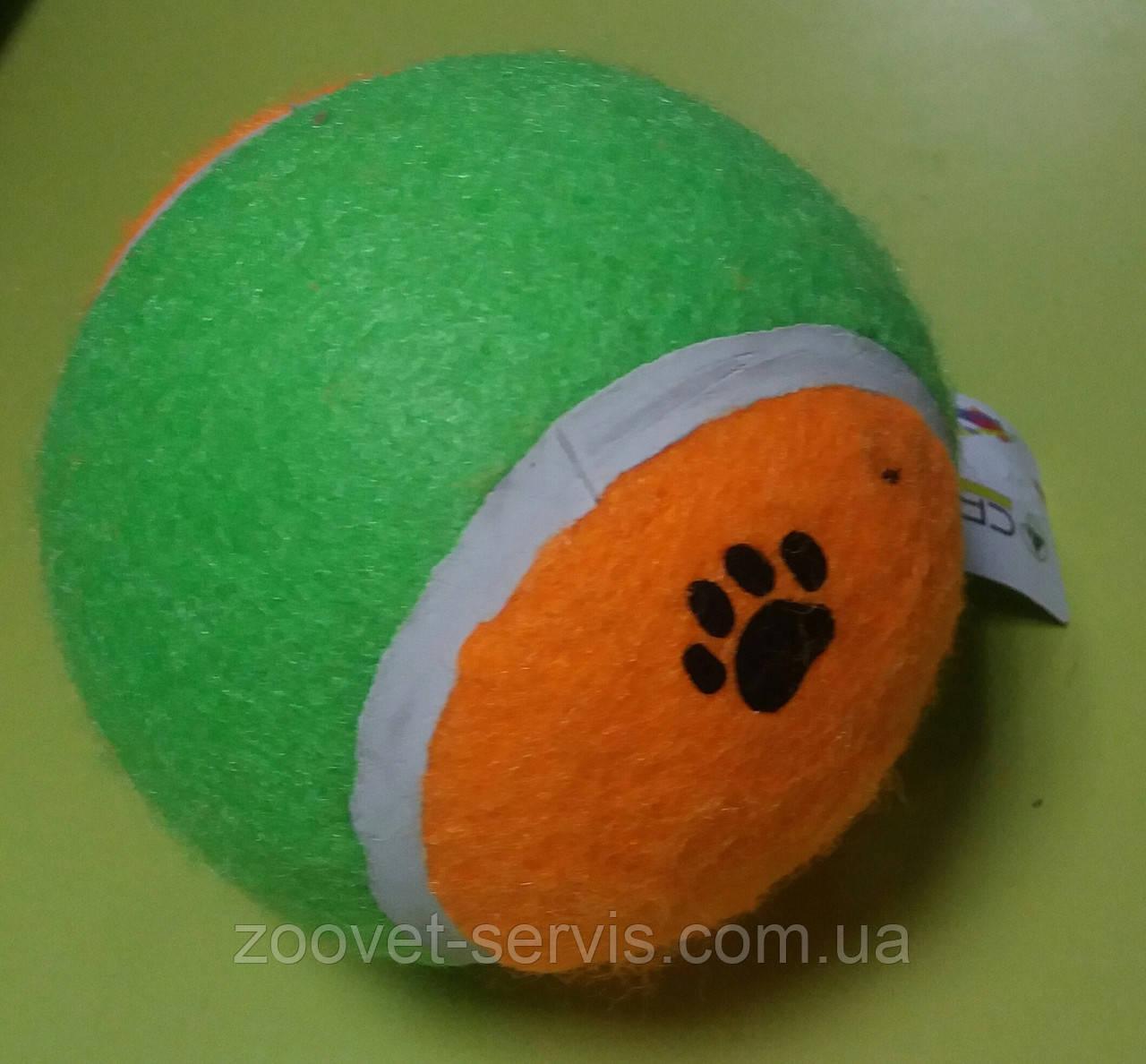 Игрушка для собак мяч теннисный диаметр 10 смC6098487