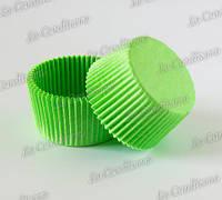 Формы для кексов зеленые 7а (Ø50, бортик – 30 мм), 2000 шт.