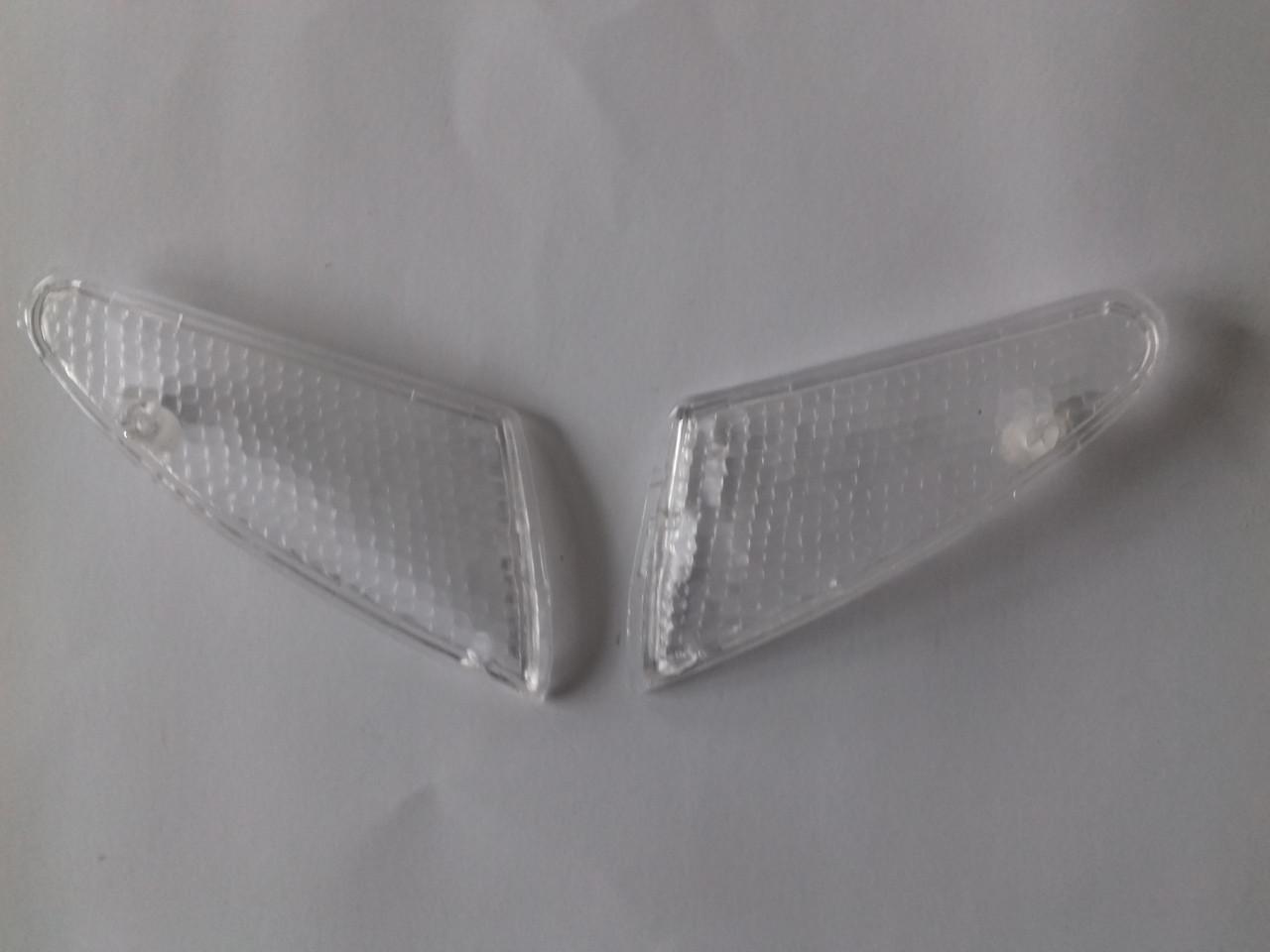 Стекла поворотов передние (пара) SUZUKI LETS II білі