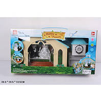 Животные флоксовые 012-09 (мебель) Happy Family, Свадебная церемония, в кор. 39*20,5*10,5 см