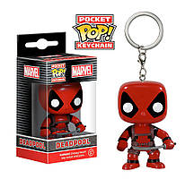 Фигурка-брелок Funko POP Marvel Dead Pool Дэдпул 4 см DP 20
