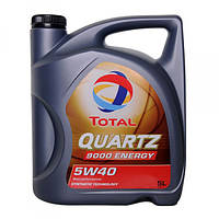 Синтетическое моторное масло Total Quartz 9000 Energy 5W40 5л