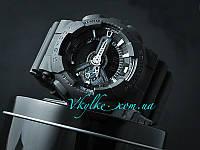 Спортивні чоловічі годинники Casio G-Shock GA-110 чорні, фото 1