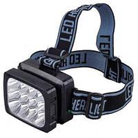 Налобный фонарь Yajia YJ-1837 (12 светодиодных LED)