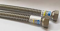 Гибкий гофрированный шланг для подводки воды ECO-FLEX 1 м Ду 15
