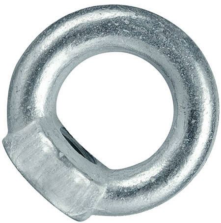 Рым гайка М6 оцинкованная с кольцом , фото 2