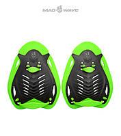 Силовые лопатки для плавания Mad Wave Ergo Paddles, фото 1