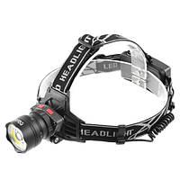 Налобный фонарь Police 8005 T6+COB
