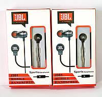 Наушники JBL J301 с микрофоном черного цвета