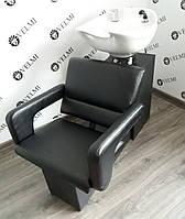 Мойка парикмахерская Cheap с креслом Flamingo