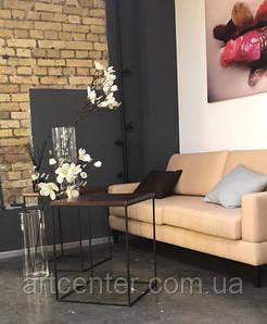 Стол квадратный в стиле ЛОФТ, стол журнальный, стол для кафе
