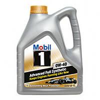 Синтетическое моторное масло Mobil 1 0W-40 4 л