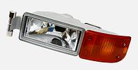 Противотуманная фара с указателем поворота (оранжевый) левая  MAN TGA/TGL/TGM 81253206111, DANIPARTS Польша