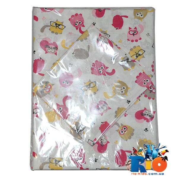 Комплект постели в детскую кроватку (хлопок), 1 комплект в упаковке