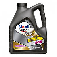 Синтетическое моторное масло Mobil 3000 Formula FE 5W-30 4 л