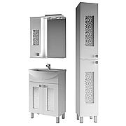 Комплект мебели для ванной комнаты Ирис 1-60-2-60 ВанЛанд