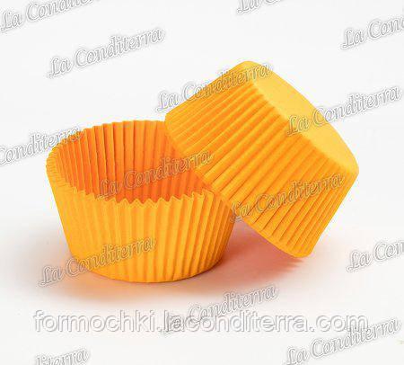 Форми для випічки кексів помаранчеві 140 (Ø55, бортик – 42,5 мм), 1000 шт.