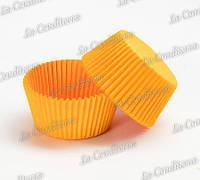 Формы для выпечки кексов оранжевые 140 (Ø55, бортик – 42,5 мм), 1000 шт.